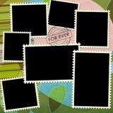 Unbelegte Briefmarke lizenzfreie abbildung