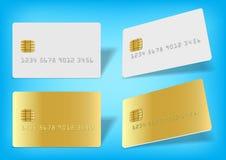 Unbelegte Chipkarte Lizenzfreie Stockfotografie