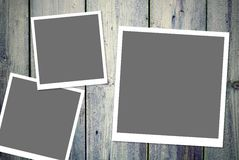 Unbelegte Foto-Felder Stockbilder