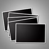 Unbelegte Fotofelder Lizenzfreie Stockfotos