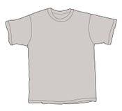 Unbelegte Hemd-Abbildung Lizenzfreies Stockfoto