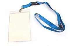 Unbelegte Identifikation-Kartenmarke Lizenzfreie Stockfotografie