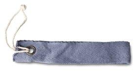 Unbelegte Jeans machen Kennsatz bekannt Stockfotos