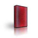 Unbelegte Kastenschablone des CD DVD Lizenzfreies Stockbild
