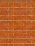 Unbelegte nahtlose brickwall Fliese lizenzfreie abbildung