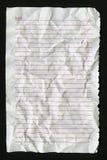 Unbelegte Notizbuchseite Lizenzfreies Stockbild