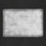 Unbelegte schwarze Schablone Lizenzfreie Stockbilder