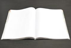 Unbelegte Zeitschrift lizenzfreie stockfotografie