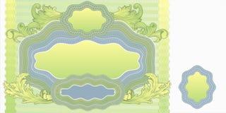 Unbelegter Banknoteplan Stockfotos