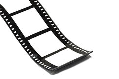 Unbelegter Filmstreifen Lizenzfreie Stockbilder