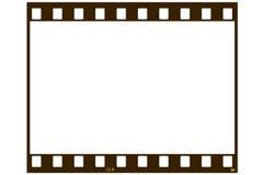 Unbelegter Filmstreifen Lizenzfreies Stockfoto