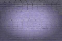 Unbelegter Hintergrund Wand des purpurroten Ziegelsteines mit Vignette plan Die Beschaffenheit des Steins, sogar Reihen Stockfoto