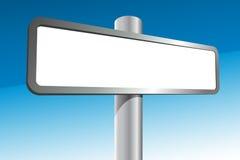 Unbelegter Signpost stock abbildung