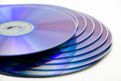 Unbelegtes DVD Stockbilder