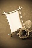 Unbelegtes Foto-Feld Stockbild