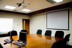 Unbelegtes Konferenzzimmer Stockfotografie