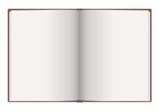 Unbelegtes Notizbuch Lizenzfreies Stockbild