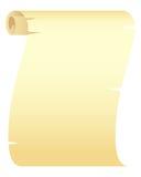Unbelegtes Papier-Rolle stock abbildung