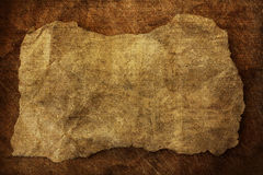 Unbelegtes Plakat von der alten Papiermarke Stockfoto
