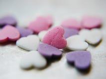 Unbelegtes Süßigkeit-Inneres Stockbild