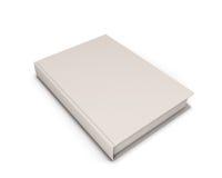 Unbelegtes weißes Buch Stockfotos