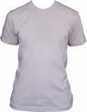 Unbelegtes weißes T-Shirt Stockbild