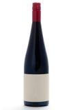 Unbelegtes winebottle Stockbild