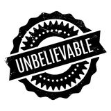 Unbelievable rubber stamp Royalty Free Stock Photo