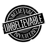 Unbelievable rubber stamp Royalty Free Stock Image