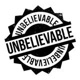 Unbelievable rubber stamp Royalty Free Stock Photography