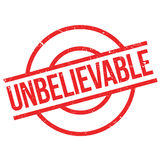 Unbelievable rubber stamp Royalty Free Stock Images