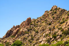 Unbelievably Difficult Puzzle. The rocks in this mountain fit together like an unbelievably difficult puzzle that nature built Stock Image