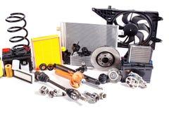 Unbenutzte Teile für Fahrzeug stockbilder