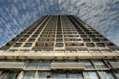 Unbewohnter Kontrollturm Stockfoto