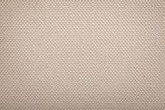 Unbleached woven fabric texture Stock Image