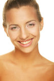 Unblemished beauty giving you a big smile Royalty Free Stock Photography