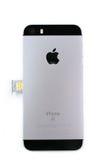 Unboxing e primo turno di nuovo Se di iPhone Fotografia Stock