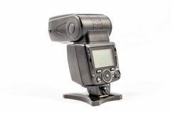Unbranded external flash unit for DSLR camera Royalty Free Stock Image