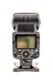 Unbranded external flash unit for DSLR camera Stock Image