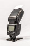 Unbranded external flash unit for DSLR camera Stock Images