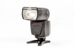 Unbranded external flash unit for DSLR camera Stock Photography