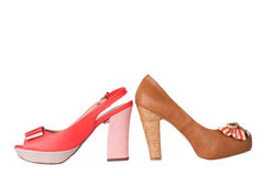 Unbranded new woman shoe Royalty Free Stock Images
