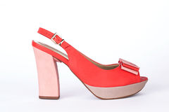 Unbranded new woman shoes Stock Photos