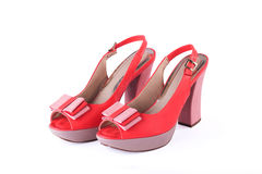 Unbranded new woman shoes Stock Photography