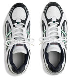 Unbranded pair of running shoes trainers on a whit. E background Royalty Free Stock Images