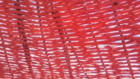 Unbrella红色milas 免版税图库摄影