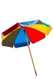 Unbrella en el fondo blanco Imagen de archivo libre de regalías