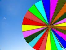 Unbrella with nice sky Stock Photo