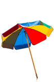 Unbrella on white background Royalty Free Stock Image