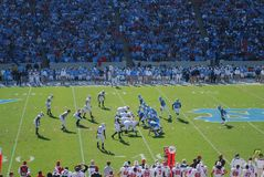 UNC Tarheels vs NC State Wolfpack Stock Photography
